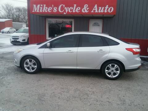 2013 Ford Focus for sale at MIKE'S CYCLE & AUTO in Connersville IN