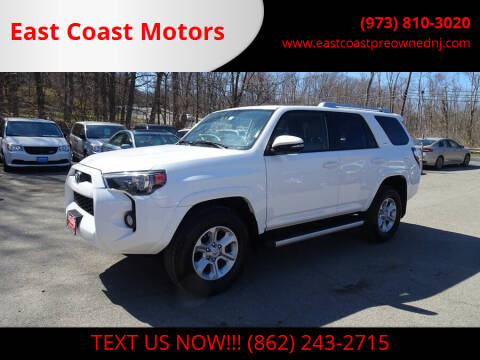 2018 Toyota 4Runner for sale at East Coast Motors in Lake Hopatcong NJ
