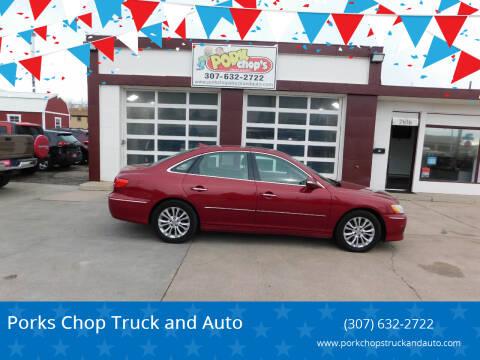 2011 Hyundai Azera for sale at Porks Chop Truck and Auto in Cheyenne WY