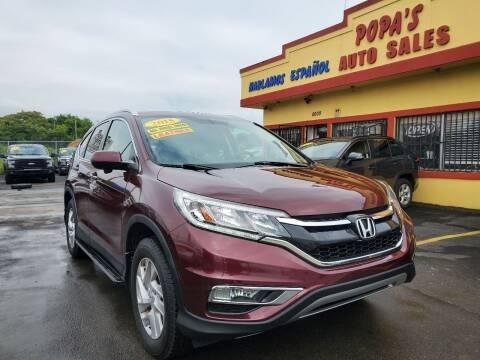 2015 Honda CR-V for sale at Popas Auto Sales in Detroit MI