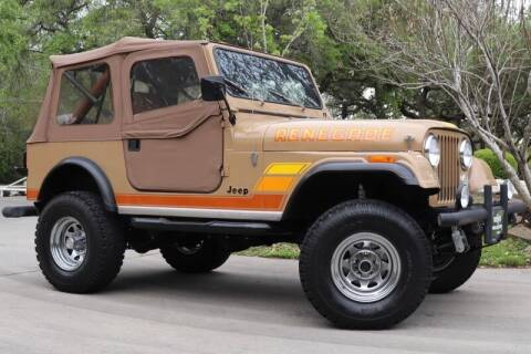1983 Jeep CJ-7 for sale at SELECT JEEPS INC in League City TX