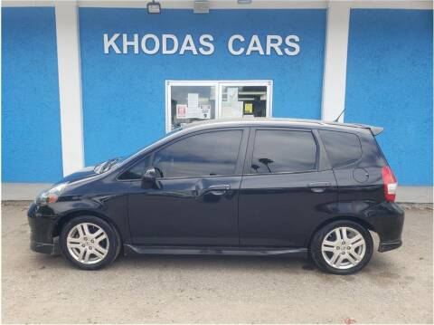 2008 Honda Fit for sale at Khodas Cars in Gilroy CA