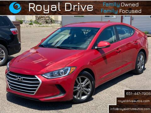 2018 Hyundai Elantra for sale at Royal Drive in Newport MN