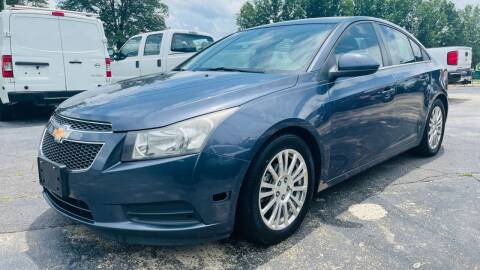 2013 Chevrolet Cruze for sale at Capital Motors in Raleigh NC