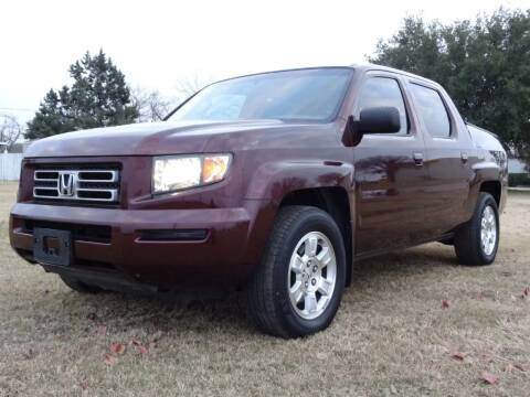 2008 Honda Ridgeline for sale at 123 Car 2 Go LLC in Dallas TX