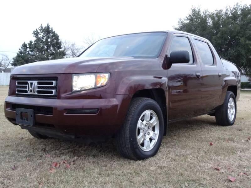 2008 Honda Ridgeline for sale at 123 Car 2 Go LLC in Dallas TX