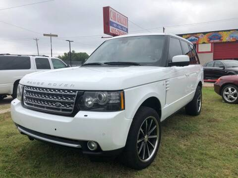 2012 Land Rover Range Rover for sale at Car Gallery in Oklahoma City OK