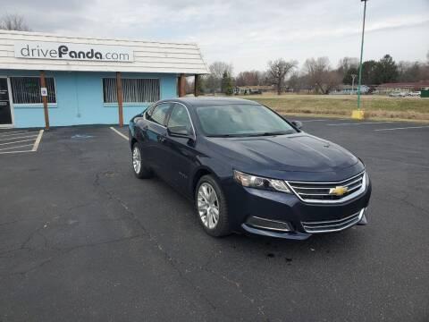 2017 Chevrolet Impala for sale at DrivePanda.com in Dekalb IL