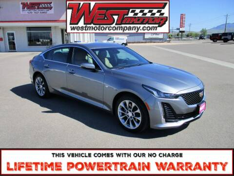 2020 Cadillac CT5 for sale at West Motor Company in Preston ID