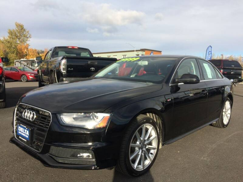 2015 Audi A4 for sale at Delta Car Connection LLC in Anchorage AK