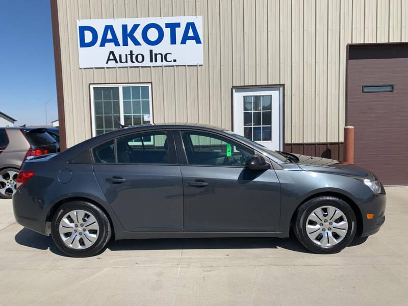 2013 Chevrolet Cruze for sale at Dakota Auto Inc. in Dakota City NE