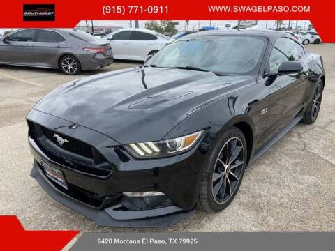 2016 Ford Mustang for sale at SOUTHWEST AUTO GROUP-EL PASO in El Paso TX