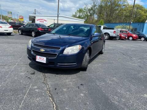 2008 Chevrolet Malibu for sale at M & J Auto Sales in Attleboro MA