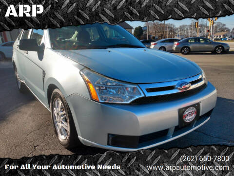 2008 Ford Focus for sale at ARP in Waukesha WI