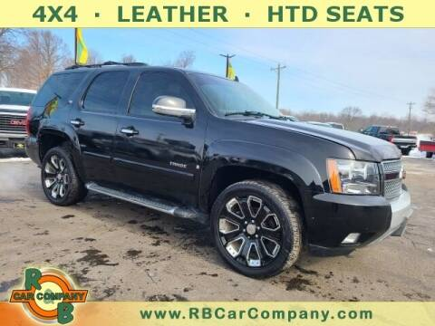 2007 Chevrolet Tahoe for sale at R & B CAR CO - R&B CAR COMPANY in Columbia City IN