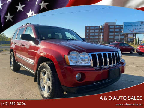 2006 Jeep Grand Cherokee for sale at A & D Auto Sales in Joplin MO