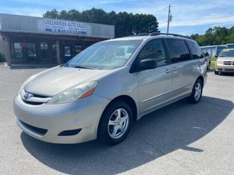 2007 Toyota Sienna for sale at Greenbrier Auto Sales in Greenbrier AR