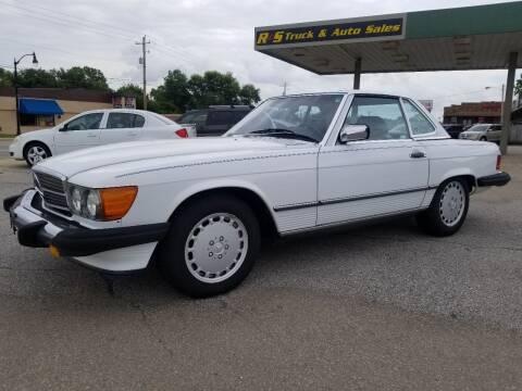 1988 Mercedes-Benz 560-Class for sale at R & S TRUCK & AUTO SALES in Vinita OK