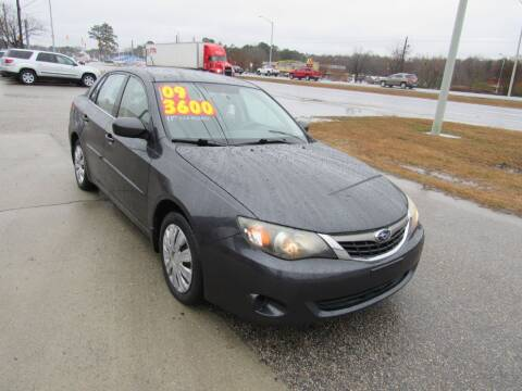 2009 Subaru Impreza for sale at Auto Bella Inc. in Clayton NC