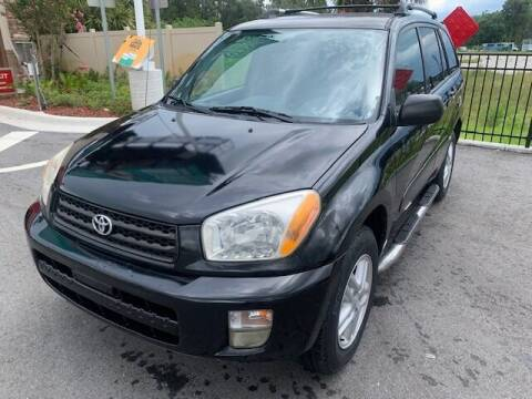 2003 Toyota RAV4 for sale at CLEAR SKY AUTO GROUP LLC in Land O Lakes FL