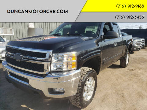 2012 Chevrolet Silverado 2500HD for sale at DuncanMotorcar.com in Buffalo NY