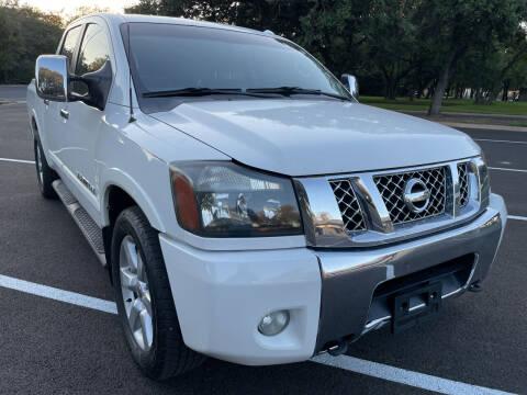 2012 Nissan Titan for sale at PRESTIGE AUTOPLEX LLC in Austin TX