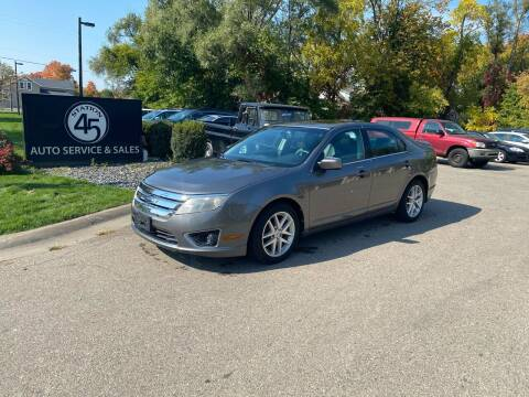 2010 Ford Fusion for sale at Station 45 Auto Sales Inc in Allendale MI