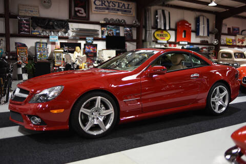 2009 Mercedes-Benz SL-Class for sale at Crystal Motorsports in Homosassa FL