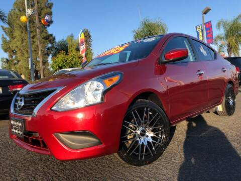2017 Nissan Versa for sale at River Park Automotive Center in Fresno CA