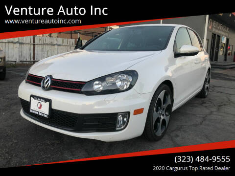 2012 Volkswagen GTI for sale at Venture Auto Inc in South Gate CA