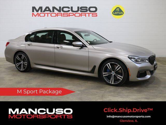 2018 BMW 7 Series for sale at Mancuso Motorsports in Glenview IL