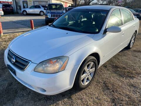 2002 Nissan Altima for sale at Texas Select Autos LLC in Mckinney TX