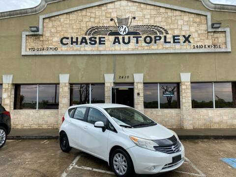2014 Nissan Versa Note for sale at CHASE AUTOPLEX in Lancaster TX