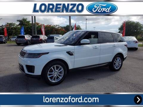 2018 Land Rover Range Rover Sport for sale at Lorenzo Ford in Homestead FL