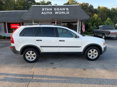 2004 Volvo XC90 for sale at STAN EGAN'S AUTO WORLD, INC. in Greer SC