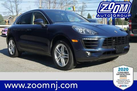 2015 Porsche Macan for sale at Zoom Auto Group in Parsippany NJ