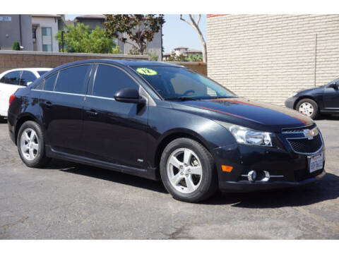2012 Chevrolet Cruze for sale at Corona Auto Wholesale in Corona CA