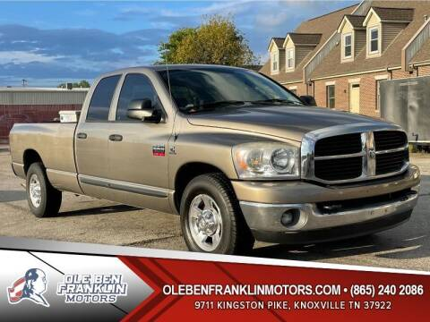 2007 Dodge Ram Pickup 3500 for sale at Ole Ben Franklin Motors Clinton Highway in Knoxville TN