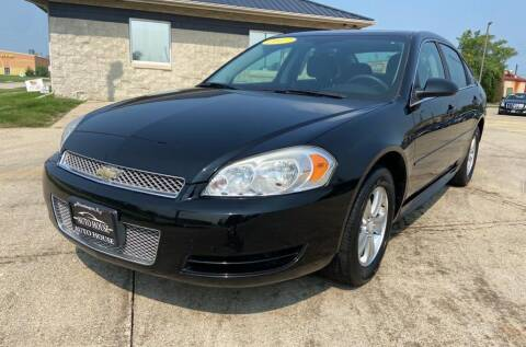 2013 Chevrolet Impala for sale at Auto House of Bloomington in Bloomington IL