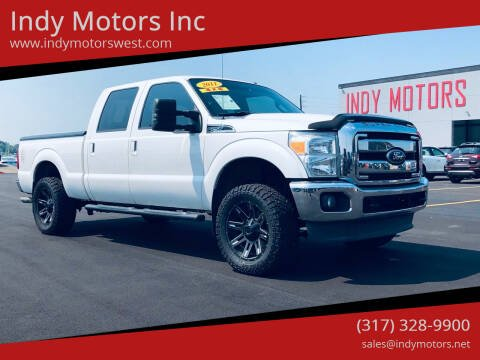 2011 Ford F-250 Super Duty for sale at Indy Motors Inc in Indianapolis IN