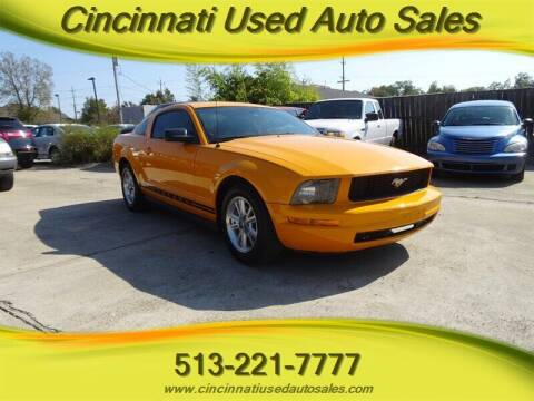 2008 Ford Mustang for sale at Cincinnati Used Auto Sales in Cincinnati OH