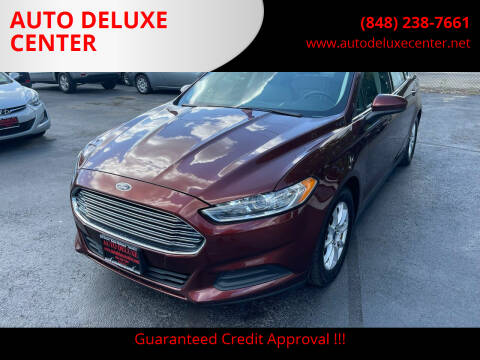 2015 Ford Fusion for sale at AUTO DELUXE CENTER in Toms River NJ
