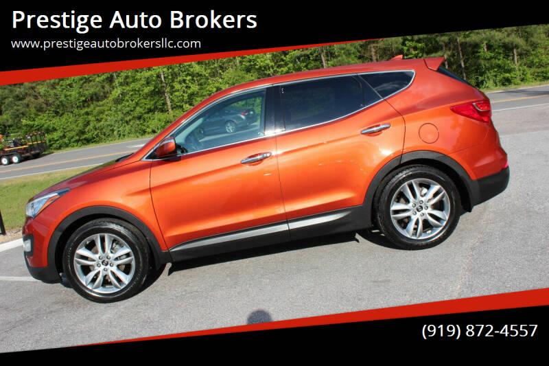 2013 Hyundai Santa Fe Sport for sale at Prestige Auto Brokers in Raleigh NC