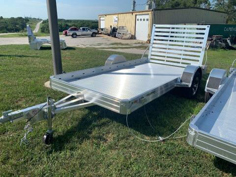 "2021 Hillsboro 12' x 70"" Utility Trailer for sale at Schrier Auto Body & Restoration in Cumberland IA"