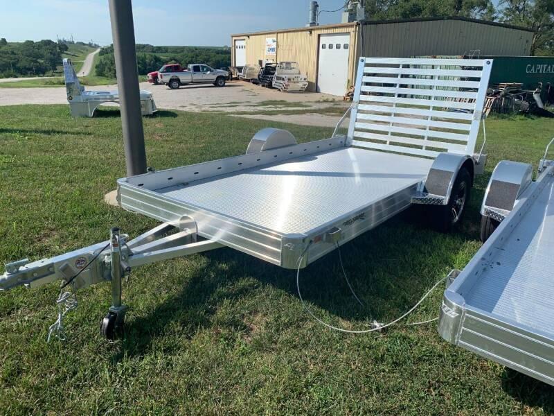 "2021 Hillsboro 12' x 70"" Utility Trailer for sale at Schrier Auto Body & Restoration in Cumberland IA"