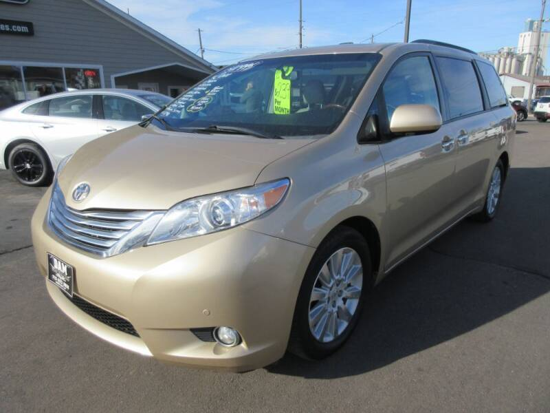 2011 Toyota Sienna for sale at Dam Auto Sales in Sioux City IA