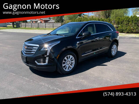 2018 Cadillac XT5 for sale at Gagnon  Motors - Gagnon Motors in Akron IN