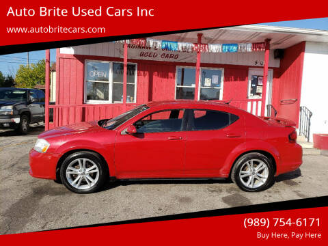 2011 Dodge Avenger for sale at Auto Brite Used Cars Inc in Saginaw MI