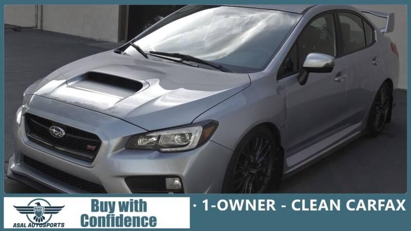 2017 Subaru WRX for sale at ASAL AUTOSPORTS in Corona CA