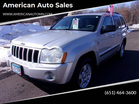 2007 Jeep Grand Cherokee for sale at American Auto Sales in Forest Lake MN